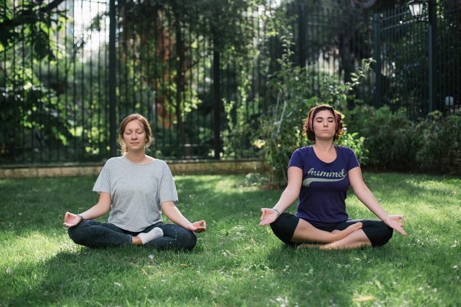 İlk Yoga Dersi