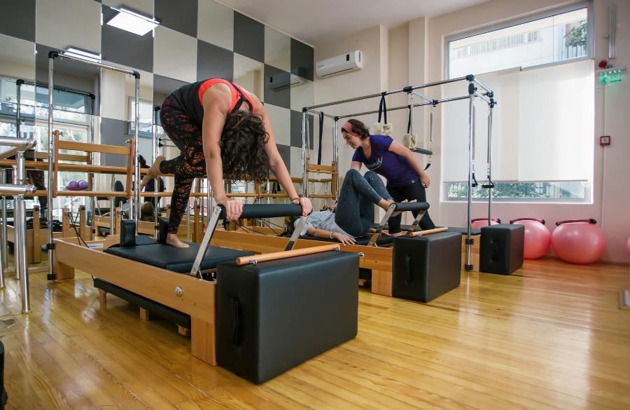 GG Studio Aletli Pilates Dersi