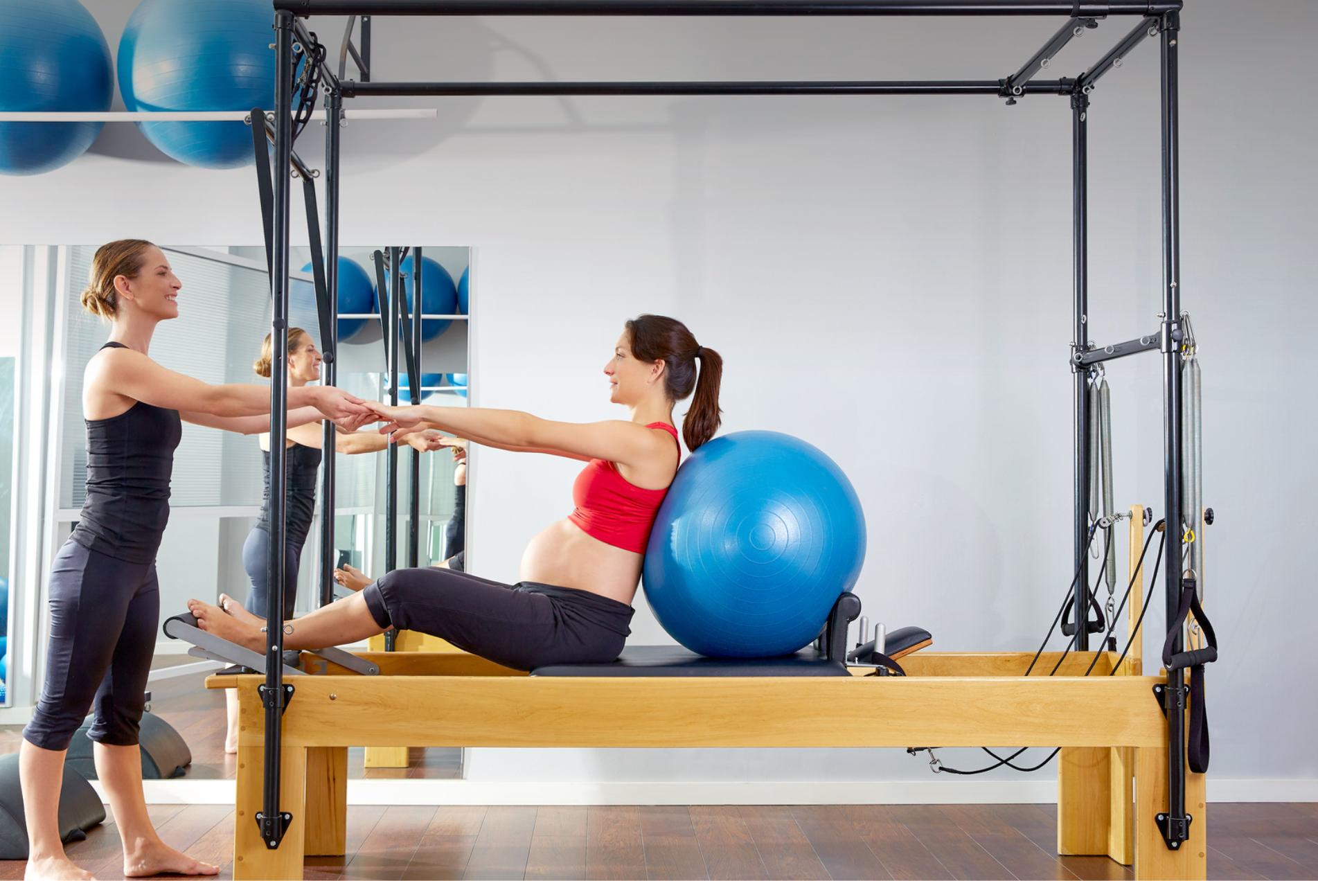 Hamile Pilates Dersleri Slider 1