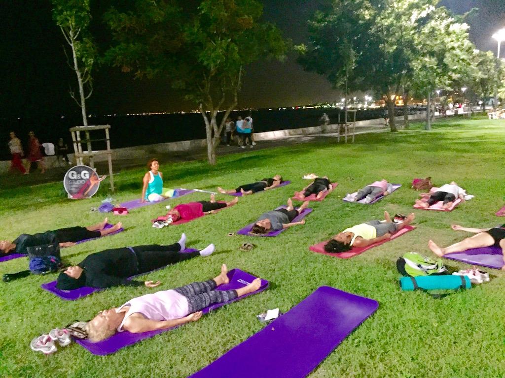 suadiye yoga etkinligi