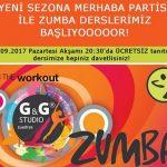 Zumba Dansı Ücretsiz Tanıtım Dersi