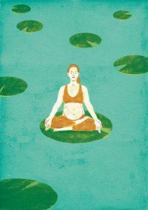 hamileler için yoga